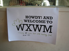 WXWM sign