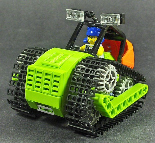 LEGO Power Miners tractor on Flickr