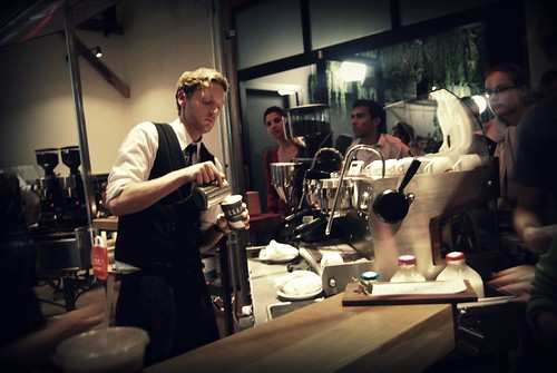 Intelligentsia Venice - Tim Styles at Work - First Friday by you.