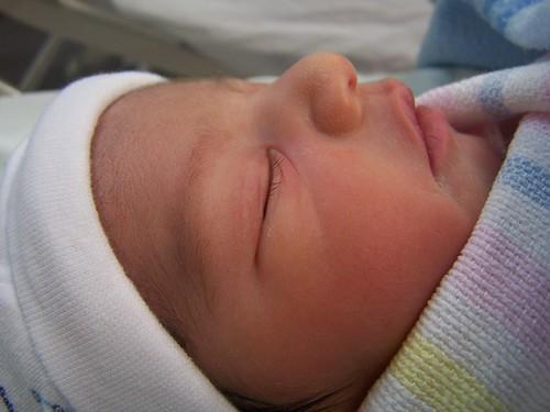 Baby Seth Sleeping