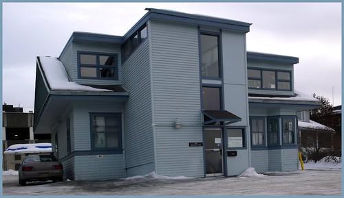 Edes House, 1918.  Christensen Drive, Anchorage.