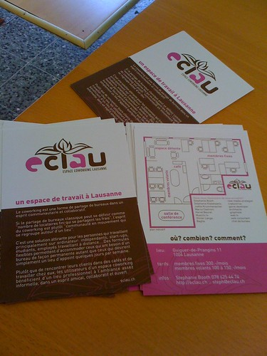 Eclau flyers