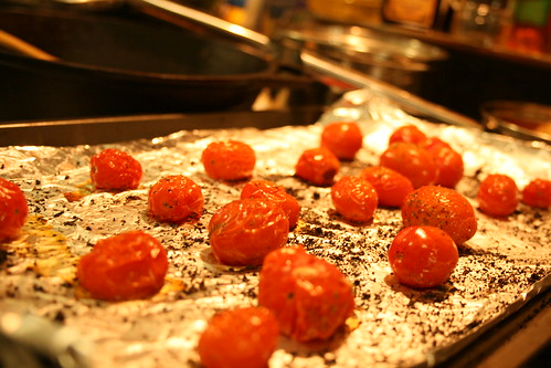 Oven Roasted Cherry Tomates