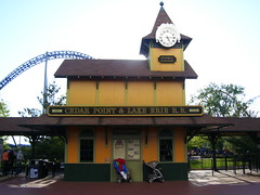 Cedar Point - CP & LE R.R. Station