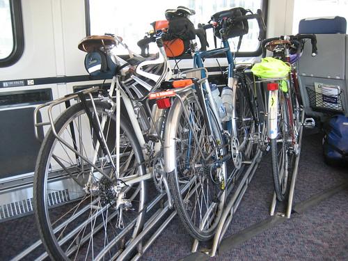 New 4-bike floor rack is sweet!