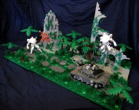Mecha ambush in the jungle   The Brothers Brick   The ...