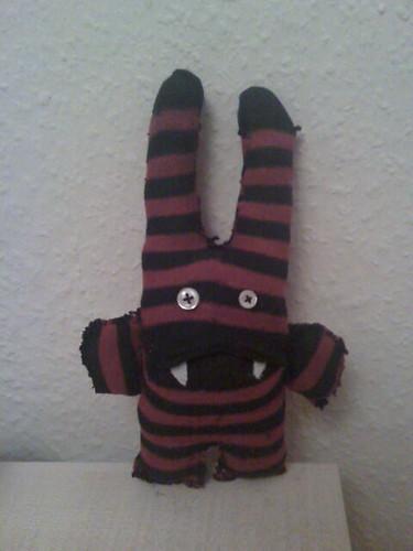 Vampire Sock Bunny