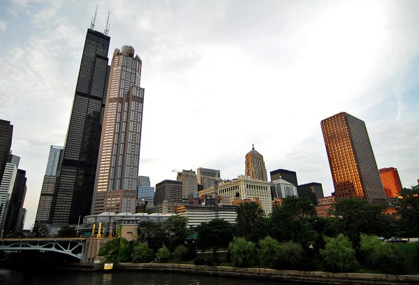 Chicago Willis Tower Sears 1 451 Ft 442 108 Floors 1974