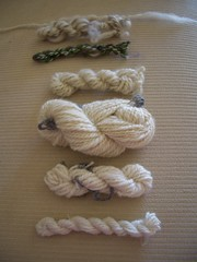 Mini skeins of all handspun