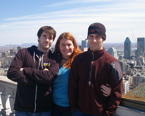 Mike, Mir and Adam in Montreal