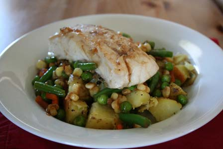 Soy-glazed Red Snapper