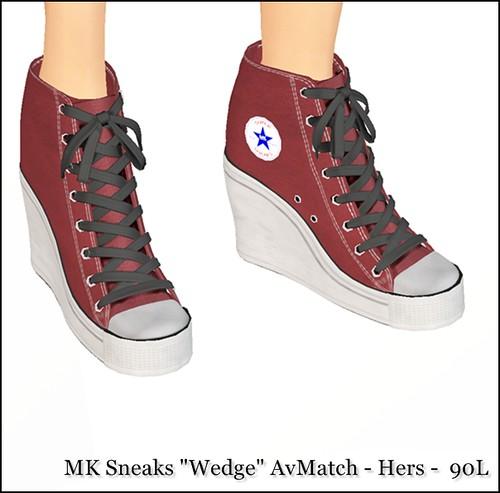 MK Sneaks Wedge
