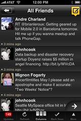Tweetdeck for iPhone - All Friends