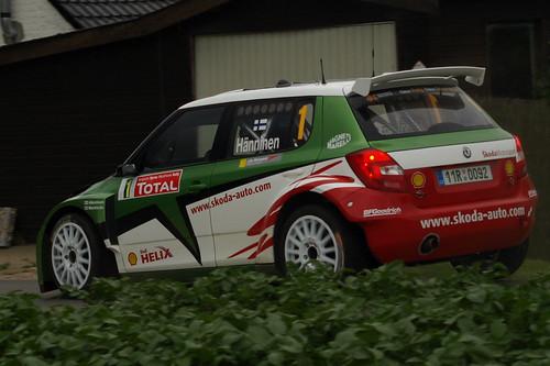 Ypres Rally SS14 Kemmelberg: Juho Hanninen