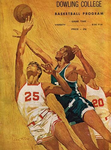 Dowling Basketball Program 1969-70
