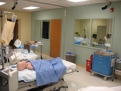 SLU New Simulation Suite Looking at Control Room