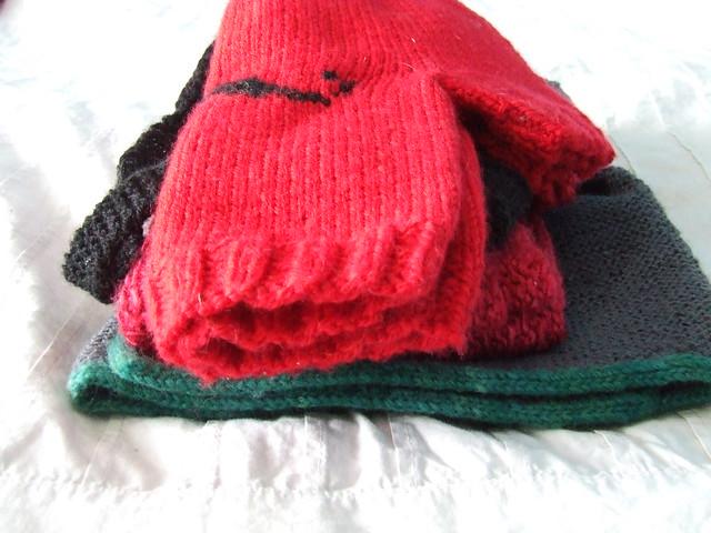 Pile o knits