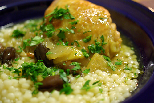 lemon-olive chicken