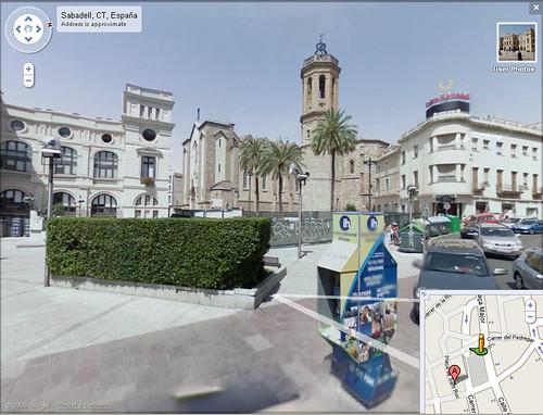Google Street View Sabadell