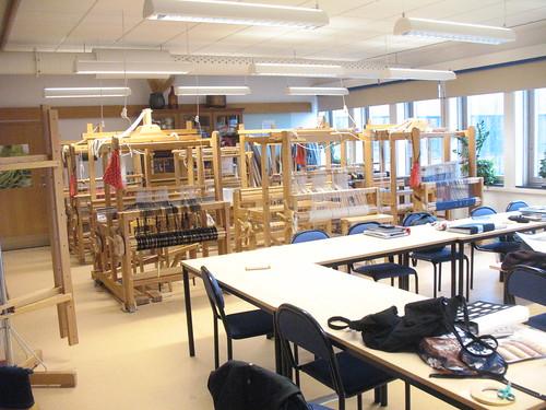 main weaving room