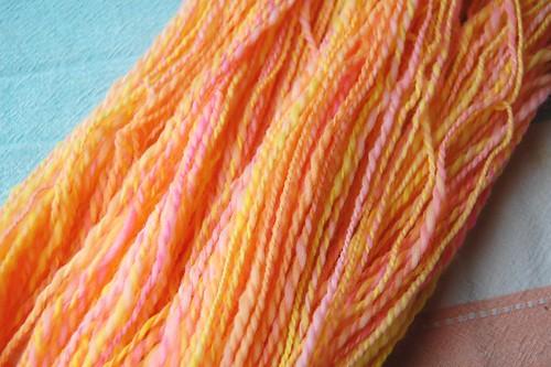 Merino two-ply yarn