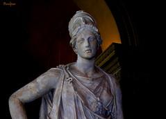 Palas Atenea, Louvre, Paris.