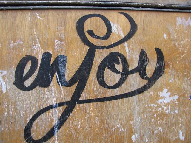 Barcelona had some wonderful graffiti