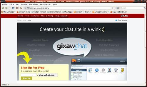 hazte tu propia sala de chat para compartir