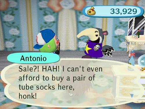 I hear ya, Antonio!