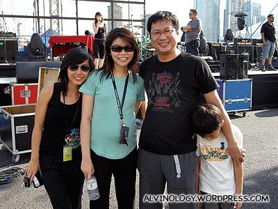 (L to R) Ching Yee, Agnes, Chim Kang