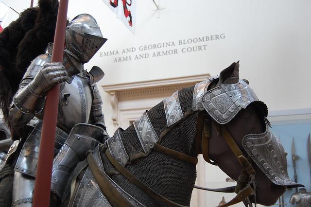 Mounted Knight at Metropolitan Museum of Art