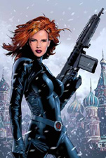 Black Widow comic book