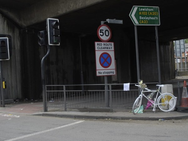 Greenwich ghost bike