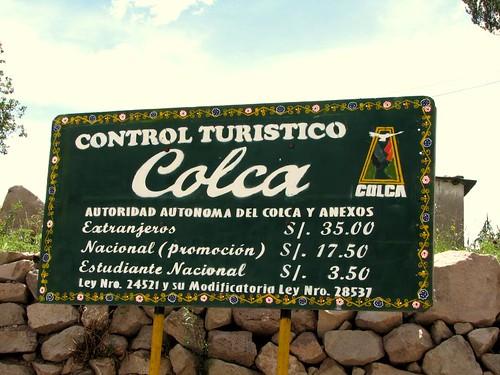 Control turístico