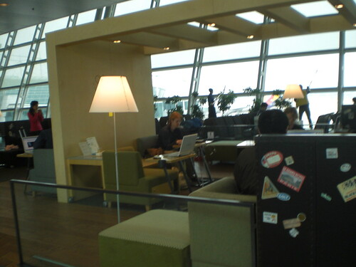 Free Wifi Cafe in Incheon Airport