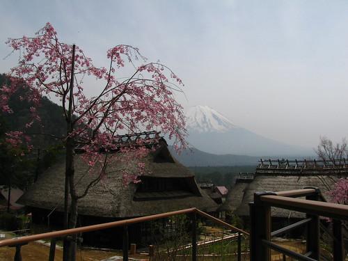 Vista dal Minshuku village