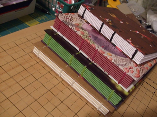 Stack of finished books