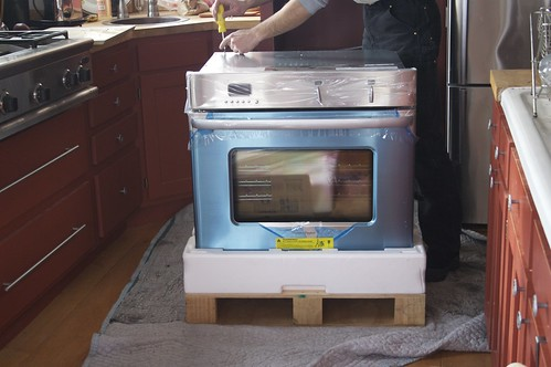 New oven - unwrapped