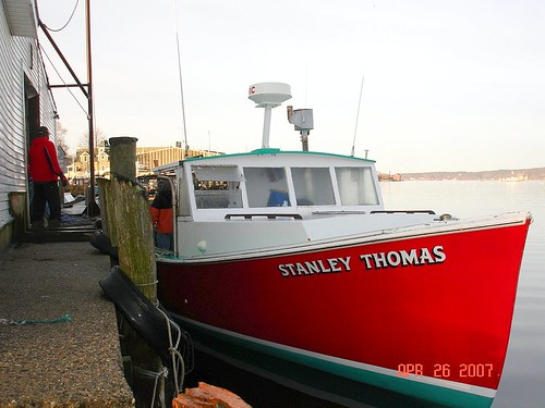 Stanley Thomas Tied Up To The Dock