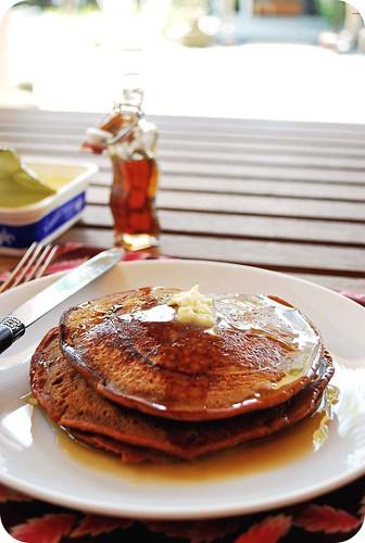 Gingerbread Pancakes III