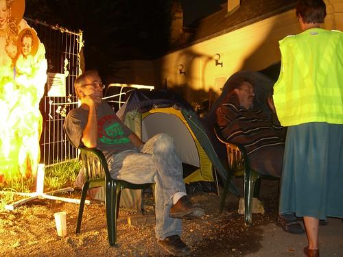 Warten auf die erste Nacht ... und das Ende des Kinos