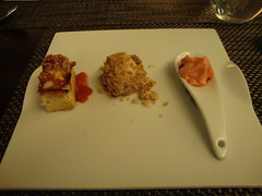 Dessert:  Rhubarb