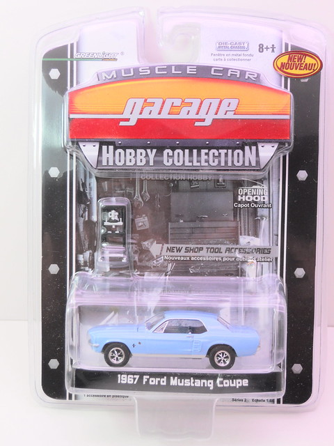 greenlight muscle car garage 1967 Ford Mustang Coupe (1)
