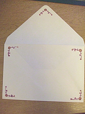 ...and the matching envelope