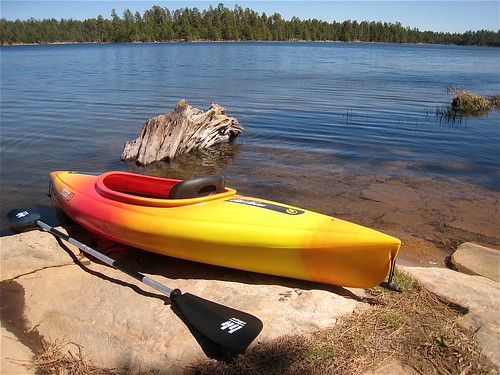 Launching in Willow Springs Lake by cogdogblog, on Flickr