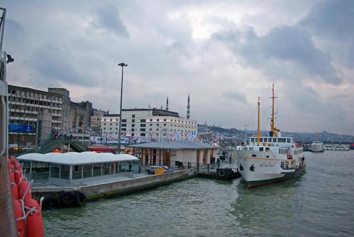 Eminönü port, İstanbul, Pentax K10d