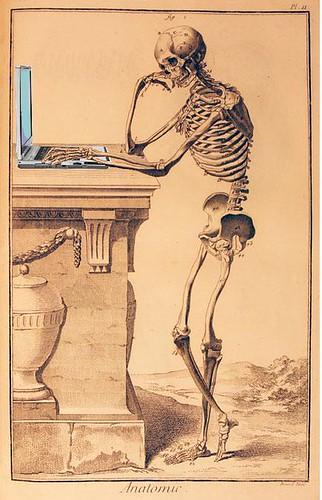 Anatomy of a Blogger, from Encyclopédie, ou dictionnaire raisonné des sciences, des arts et des métiers