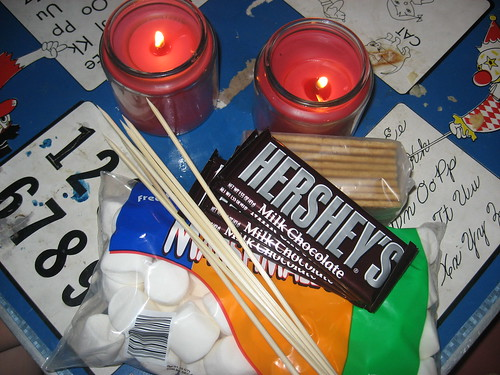 S'more Supplies for Indoor Camping