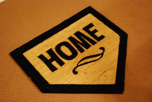 """welcome """"home"""""""