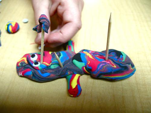 model magic transportation sculpting